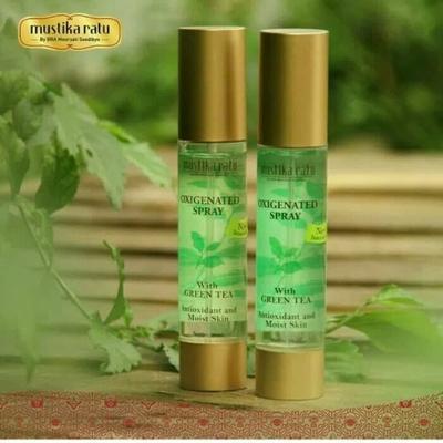 Mustika Ratu Oxygenated Spray with Green Tea