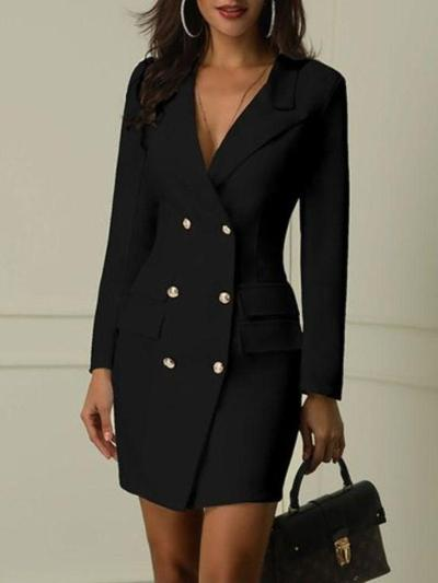 "Blazer ""Dress"" Hitam"