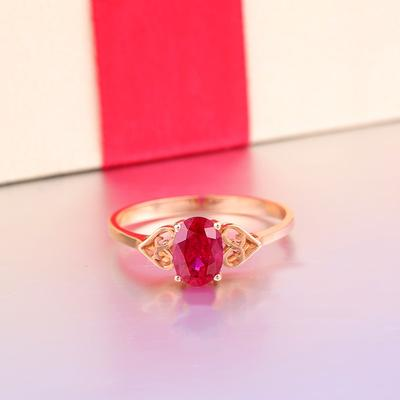 Cincin Permata Ruby