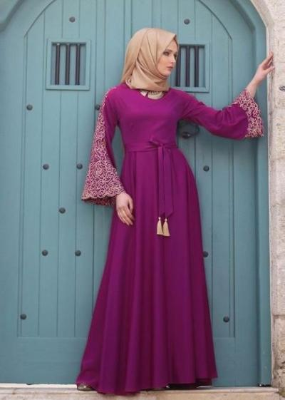 3. Model Kebaya Brokat Dress