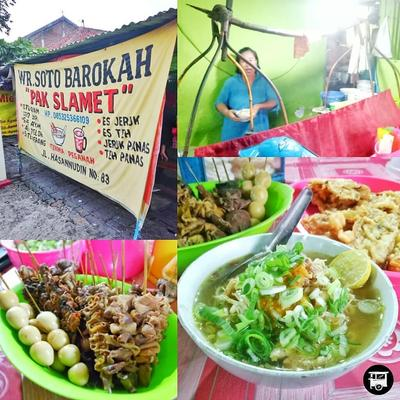 "Warung Soto "" Barokah "" Pak Slamet"