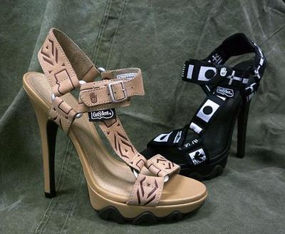 3.Teva Like Sandals Heels.
