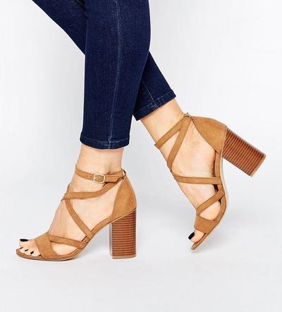 4.Block Heels.