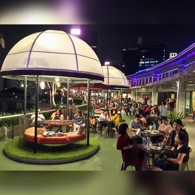 Penat Dengan Suasana Ibukota ? Yuk Rasakan Sensasi Sky Dinning di Plaza Semanggi