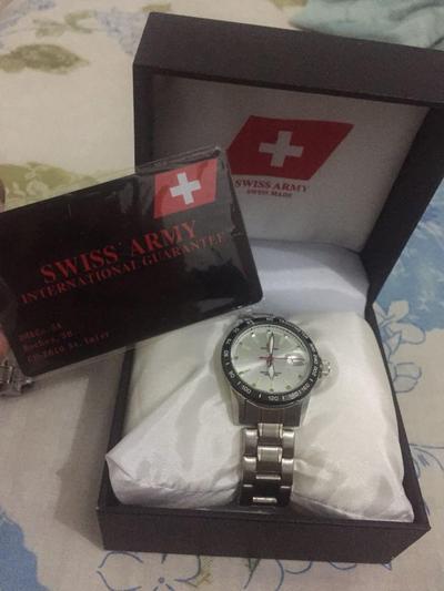 Jam Tangan Swiss Army Asli
