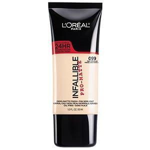 2. L'Oréal Infallible Pro-Matte Foundation