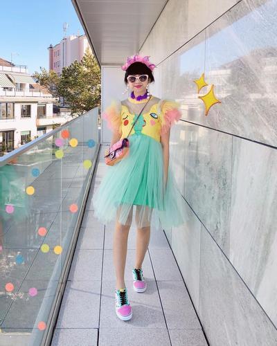 2. Colorfull Kids Dress