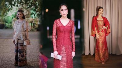 5 Inspirasi Kebaya Modern untuk Acara Pesta ala Artis Indonesia