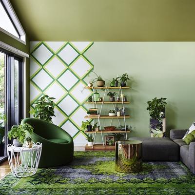Kombinasi Warna Cat Rumah Kuning  paduan warna cat rumah minimalis yang hits tahun ini