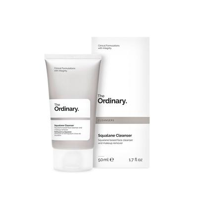 1.  The Ordinary's Squalane Cleanser