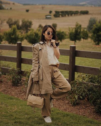 Penampilan Cantik Karina Salim, Tetap Stylish Meski Sudah Jadi Ibu