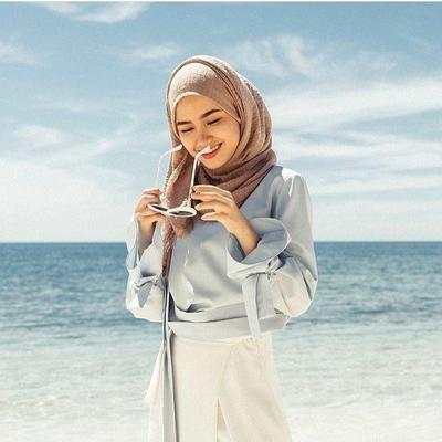 Hijab Beachwear Super Santai Saat Di Pantai