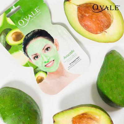 1. Ovale Facial Mask Avocado