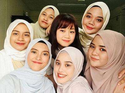 Viral, Grup Acapella Hijabers Bersuara Merdu Nyanyi Lagu 'Solo' Jennie Blackpink