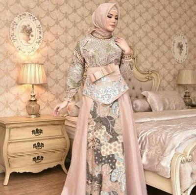 Yuk, Tampil Cantik dengan Desain Baju Batik Muslim untuk Berbagai Acara Ini!