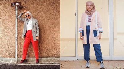 Dear Hijabers, Ini Lho 5 Pilihan Blazer Kekinian Buat OOTD Kece Kamu