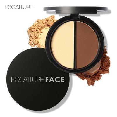 Focallure Buzz-Worthy Bronzer and Highlighter Palette