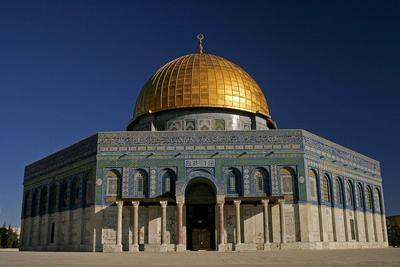 Masjid Kubah Emas di Yerusalem