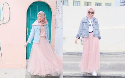 Dear Hijabers, Ini 5 Tips Memilih Bawahan yang Pas untuk Jaket Jeans