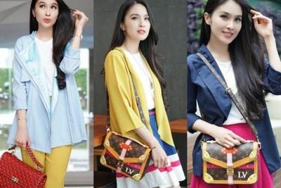 Mix and Match Sandra Dewi dengan Long vest yang Bisa Kamu Jadikan Inspirasi