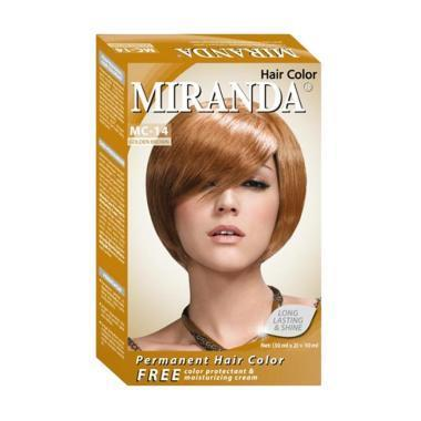 Miranda Hair Color Premium 3D Golden Brown