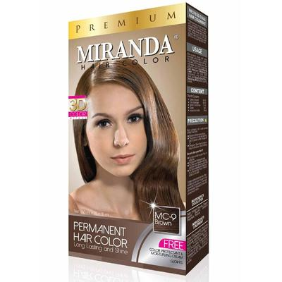 Miranda Hair Color Premium 3D Brown
