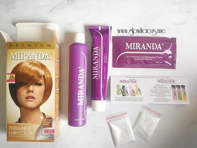 Cara Menggunakan Miranda Hair Color Premium 3D