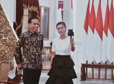 Agnezmo Bertemu Presiden Indonesia
