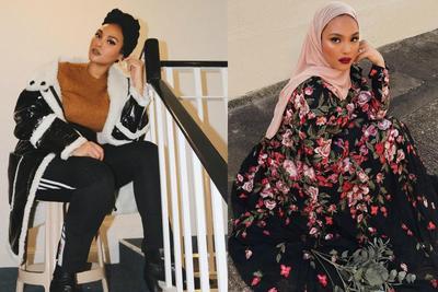 Inspirasi Fashion Kece ala Hijab Blogger Manal Jalil Asal Kanada