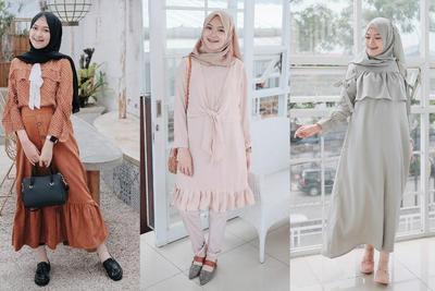 Casual Dress yang Wajib Dimiliki Hijabers ala Selebgram Saritiw