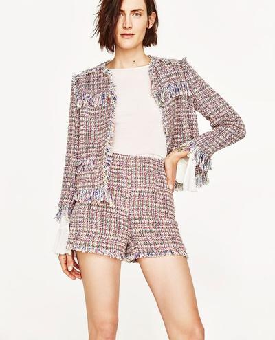 Jaket Tweed dan Celana