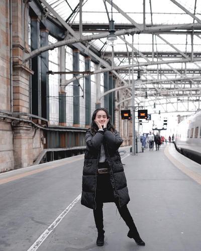 Station Fashion With Jacket