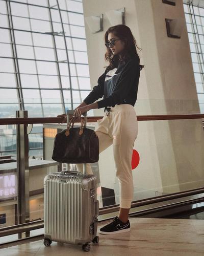 Airport Style Keren dengan Sweatpants