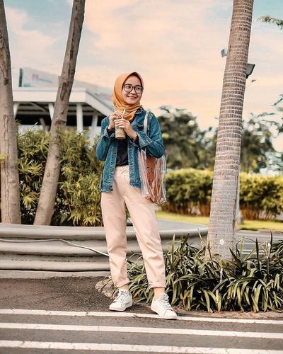 Celana Chino Mix Jaket Jeans untuk Casual