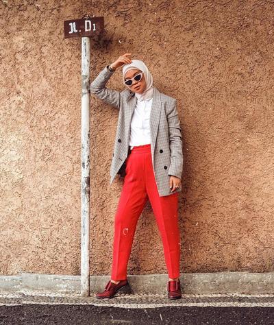 Celana Chino Mix Blazer untuk Si Formal