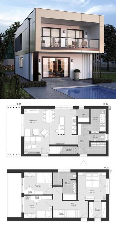 3.  Rumah Mewah Minimalis Konsep Eropa