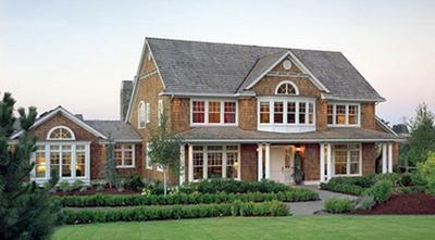 6.  Rumah Mewah Minimalis Gaya Amerika