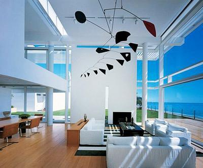 7.  Rumah Mewah Minimalis Beach House