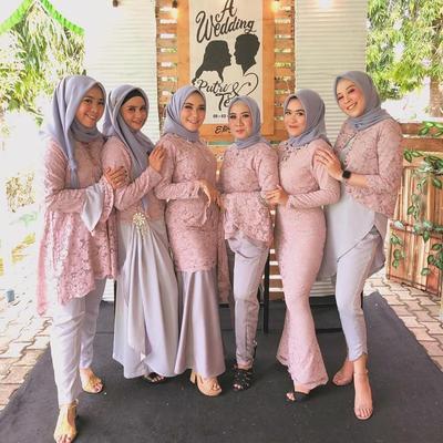 Dear Ladies Ini 7 Inspirasi Model Kebaya Kain Brokat Modern Untuk