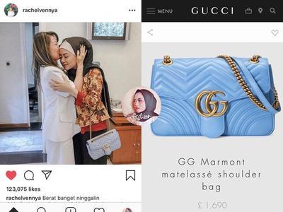 Gucci GG Marmont Matelassé Shoulder Bag.