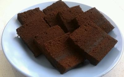 Brownies Kukus Klasik Cokelat