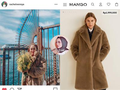 Mango Oversized Faux-Fur Coat