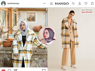 Mango Unstructured Virgin Wool Coat