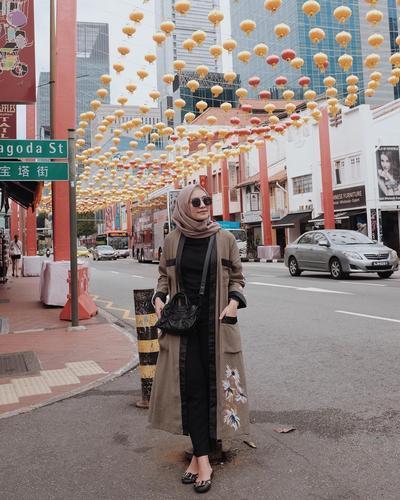 Long Outer Abaya