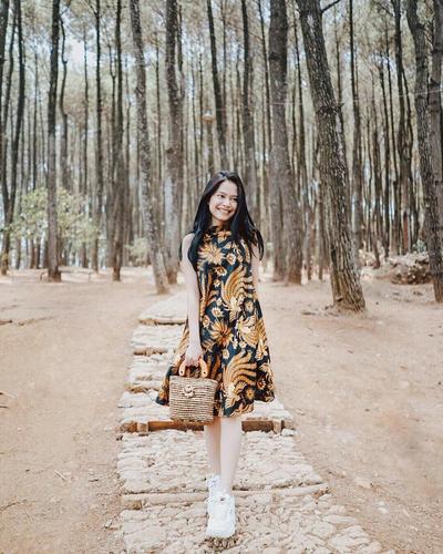 Dress Batik yang Anggun