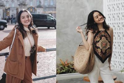 OOTD Liburan yang Simpel dengan Celana ala Beauty Vlogger Cantik Nadya Aqila