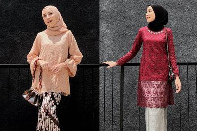 5 Outfit Kondangan ala Hijabers Rizky Amelia 'Amaliaelle', Pakai Celana Kulot & Rok Batik