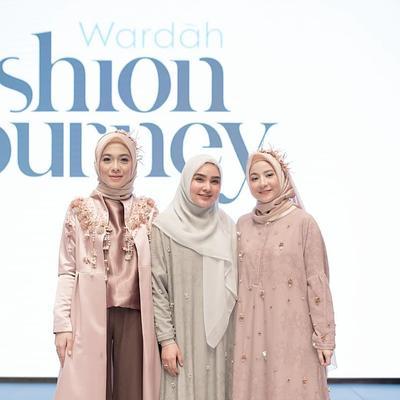Mengintip Cantiknya Riasan Wajah Para Muse 6 Desainer yang Digandeng Wardah di IFW 2019