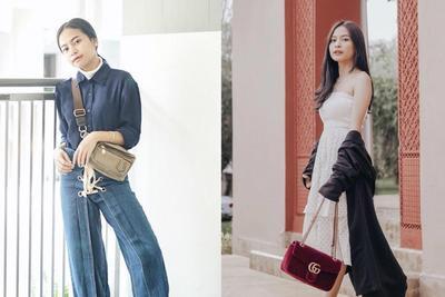 Contek Nih! Deretan Style Keren Artis Cantik Hanggini, Cocok untuk Remaja Masa Kini