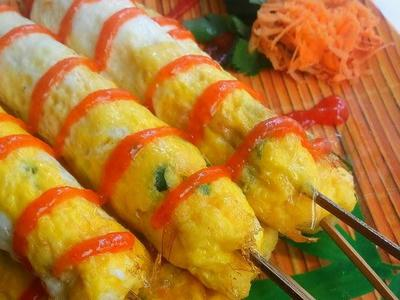 Hits Lagi! Ini Resep Telur Gulung Camilan Anak 90-an Anti Gagal dan Crunchy